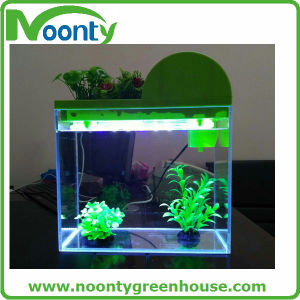Multi-Functions LED Light Perpetual Calendar Bar Counter Aquarium Fiberglass Aquaponics Fish Tank pictures & photos