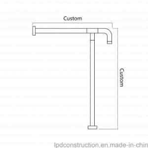 ss304 u0026 nylon wall mounted handicapped grab bars for bathroom