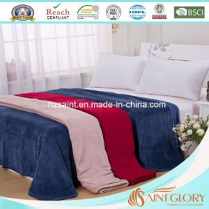 Cheap Price Wholesale Flannel Fleece Blanket pictures & photos