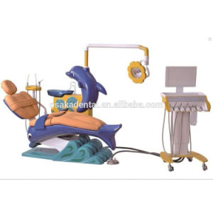 FDA and CE Approved Kids Dental Unit with Dolphin Design Children Dental Chair Unit pictures & photos