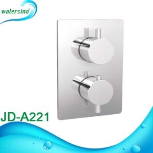 Bathroom Thermostatic Temperature Shower Faucets in Wall pictures & photos