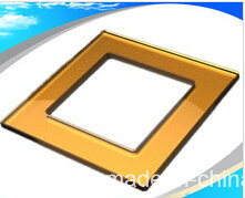 Silk-Screen Printed Color Switch Panel Frame Glass pictures & photos