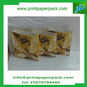 Custom Embossing Food Grade Kraft Paper Bag Bread Bag Hamburg Bag pictures & photos