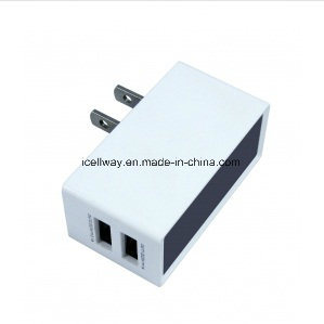 5V 2.1A 2 USB Wall Charger Travel Adapter Quick Charger pictures & photos