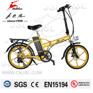 36V 13.5Ah Lithium Battery Foldable E-Bike With TUV (JSL039X48) pictures & photos