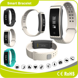 Heart Rate Blood Pressure Pedometer Sleeping Monitor Distance Calorie Message Phone ID Notification Fitness Bracelet pictures & photos