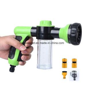 Garden Hose Nozzle Hand Sprayer, Heavy Duty High Pressure Water Sprayer Gun W/ Pistol Grip Trigger, 8 Adjustable Patterns Best for Hand Watering Plants & Lawn pictures & photos