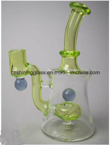 Perfect Wholesale Inner Marble Shape Smoking Water Pipe Oil Rigs pictures & photos