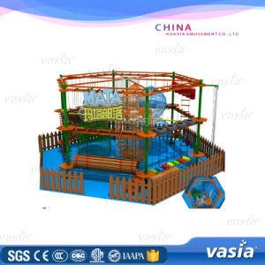 Children High Hexagon Adventure Park Rope Courses for Shopping Mall pictures & photos