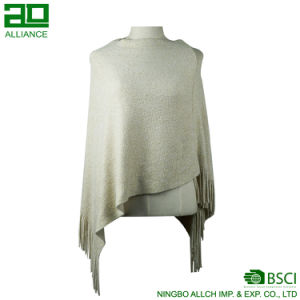 Warm Winter Women Capes Short Shawl pictures & photos