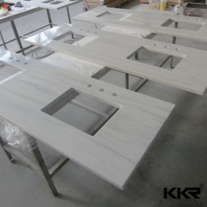 Customized Solid Surface Kitchen Island Countertop pictures & photos
