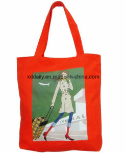 Color Full Printing Tote Promotional Bag with Handle pictures & photos