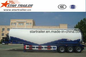 3 Axles 55 Cbm Cement Transport Tanker Trailer pictures & photos