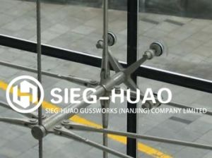 4 Arms Stainless Steel Glass Spider Fitting