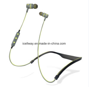 Premium Sound Neckband Style Bluetooth Earphone Steadily in Ear pictures & photos