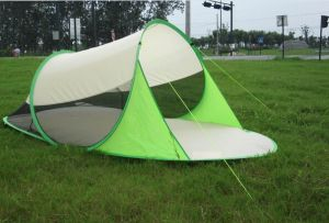Anti-UV Automatic 2-Second Pop up Beach Tent pictures & photos