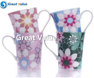 12 Oz Color Decal Ceramic Mug Cup pictures & photos