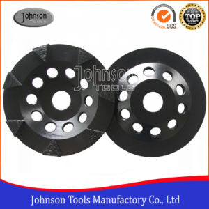 125mm&150mm Diamond Triangle Segment Wheel for Concrete Floor Grinding pictures & photos