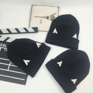 Wholesale Cats Ear Hats Knitted Wool Hats Made in China pictures & photos