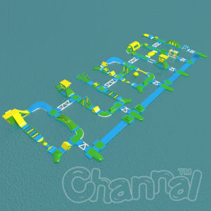 Customized Water Running Game Inflatable Water Park for Adult and Kids pictures & photos