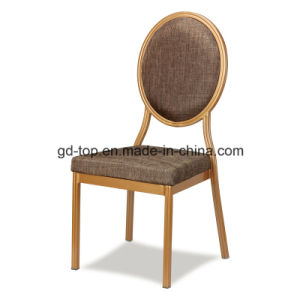Round Back Comfortable Aluminum Banquet Chairs pictures & photos