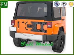 TF Spare Tire HD Hinge Tire Carrier Suited for Jeep Jk Wrangler pictures & photos