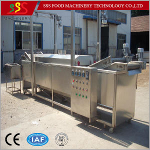 High Quality Continuous Food Fry Machine Hot Sale pictures & photos