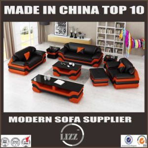 Latest Modern Leather Sofa Set Lz1388 pictures & photos