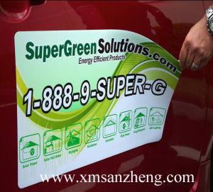 High Quality High Temperature Resistant Colorful Clear Removable Magnetic Stickers pictures & photos