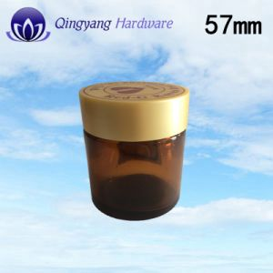 Plastic UV Screw ABS Cap with Screen Printing for Cosmetics Bottle Jar Factory Direct pictures & photos
