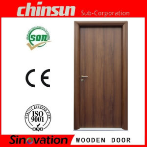 MDF PVC Interior Wooden Door pictures & photos