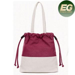 Women Canvas Shopping Bag Big Size Tote Handbag SA01 pictures & photos