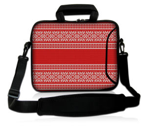 "Simple Style Laptop Bag 15"" Neoprene Sleeve Case with Handle&Shoulder Strap pictures & photos"