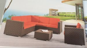 Alu Outdoor Leisure Rattan Sofa pictures & photos