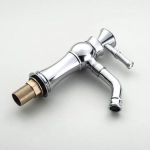 FLG Chrome Ceramic Crystal Handle Bathroom Basin Faucet pictures & photos