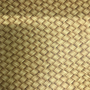 Special Design Woven-Grain Cork Leather for Shoe or Bags (HS-M312) pictures & photos