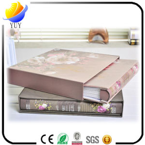 New Gift Flower Pattern Centerfold Style Available Plastics Album pictures & photos