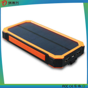 Fast charge Waterproof Silicone Solar Power Bank charger 10000mAh pictures & photos