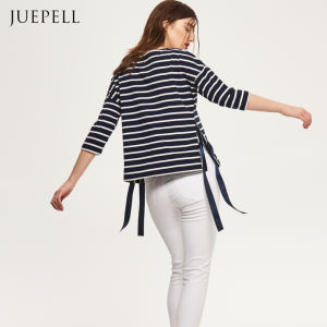 Stripe Sweatshirt with Tie pictures & photos