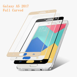 Full Cover Tempered Glass Screen Protector for Samsung Galaxy A5 (2017) pictures & photos