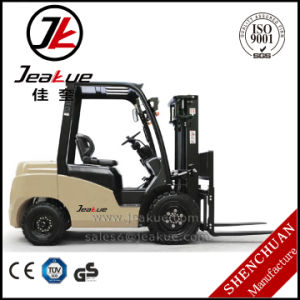 2017 Newest Japan Mitsubishi S4s Engine 2 Ton Counterbalance Diesel Forklift Truck pictures & photos