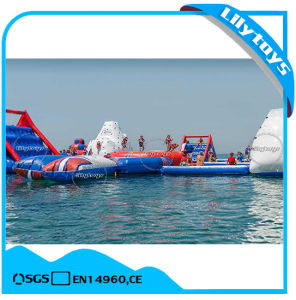 Floating Island Adult Aqua Inflatable Floating Water Park for Sale pictures & photos