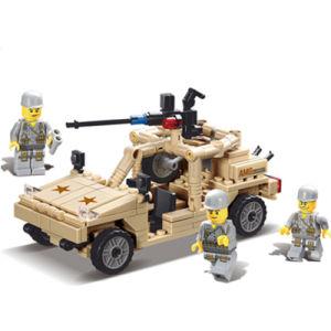 14882004-252PCS Building Blocks Transport Hummer 3D Blocks Educational Model & Building Toys pictures & photos