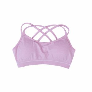 Women′s Removable Padded Sports Bras Medium Support Workout Yoga Bra pictures & photos
