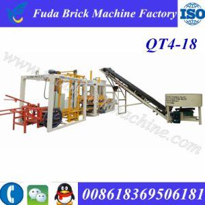 Qt4-18 Cabro Brick Machine Hollow Pot Block Machine for Sale pictures & photos
