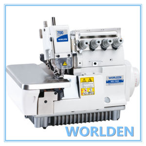 Wd-700d Super High Speed Direct Drive Overlock Sewing Machine pictures & photos