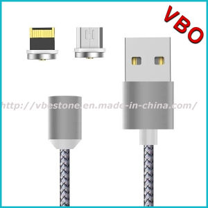 Flexible Metal-Head Type-C Cable Micro USB Data Cable Magnet USB Cable pictures & photos