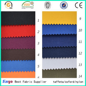 Textile PU Coated Waterproof Oxford 600d Cordura Fabric for Motorbike Jacket in Jet Black pictures & photos