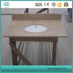 G682, Misty Yellow, Rustic Yellow Granite for Countertop Vanity Top pictures & photos
