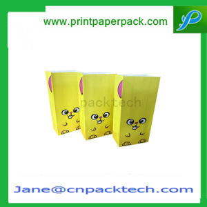 Custom Color Packing Bread Bags Cute Kraft Paper Bag pictures & photos